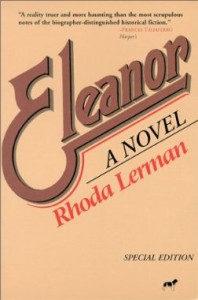 Eleanor, A Novel by Rhoda Lerman